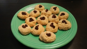 Raisins and (or) cranberries cookies