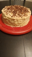 Honey cake with Napoleon cream 9 inch